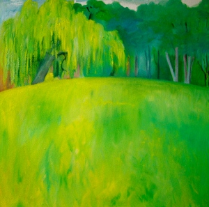 The Willow Tree Oil on canvas